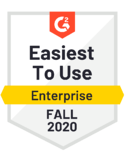 Customer Self-Service - Easiest To Use - Enteprise - Fall 2020