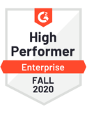 ITSM - High Performer - Enterprise - Fall 2020