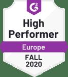 Service Desk - High Performer - Europe - Fall 2020