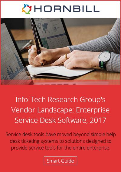 Info-Tech Research Groups Vendor Landscape: Enterprise Service Desk Software 2017