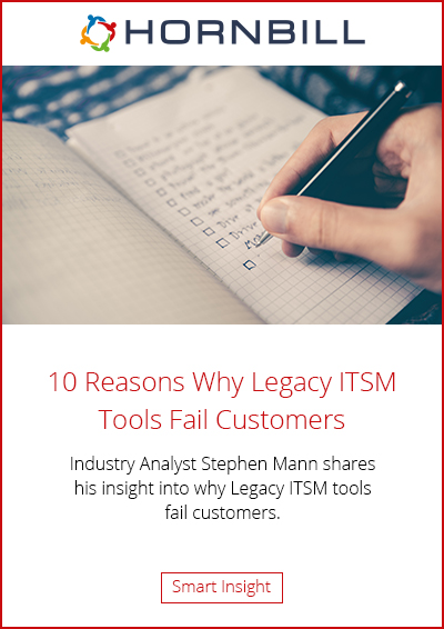10 Reasons Why Legacy ITSM Tools Fail Customers