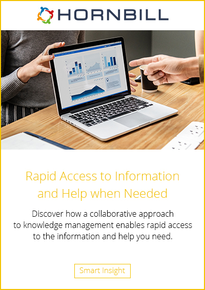 Rapid Access to Information and Help when Needed