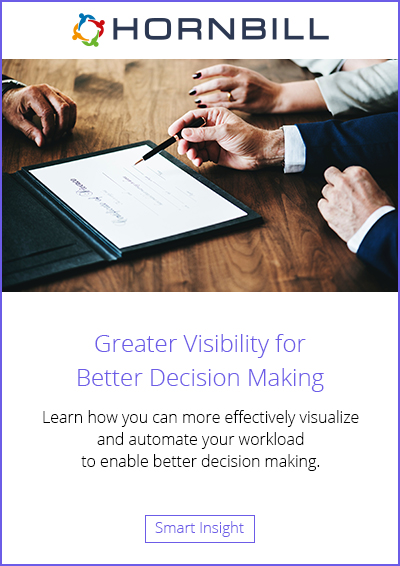 Greater Visibility for Better Decision Making
